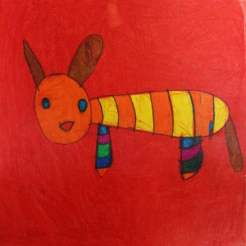 Kunstwerk Anja Bosma - Hond (1)