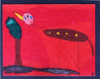 Kunstwerk Anja Bosma - Hond (2)