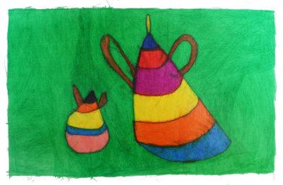 Kunstwerk Anja Bosma - Koffiepot (1)