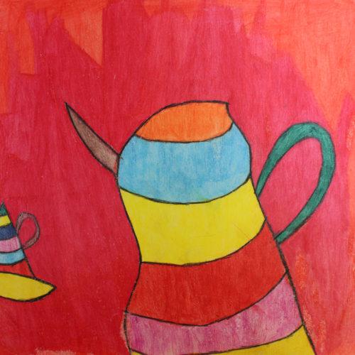 Kunstwerk Anja Bosma - Koffiepot (2)