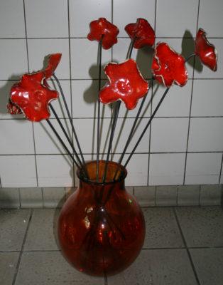 Kunstwerk Anke de Sadeleer - Klaprozen