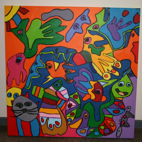 Kunstwerk Anke de Sadeleer - Schilderij