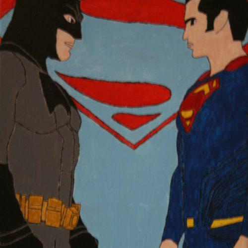 Kunstwerk Bas van der Putten - Superhelden