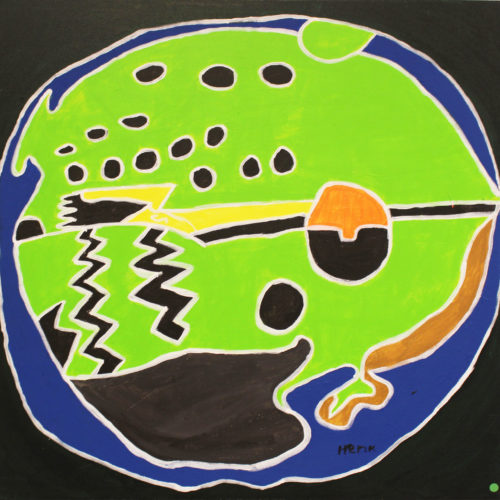 Kunstwerk Henk van Eijk - Kikker