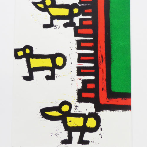 Kunstwerk Henri Derks - Drie eendjes