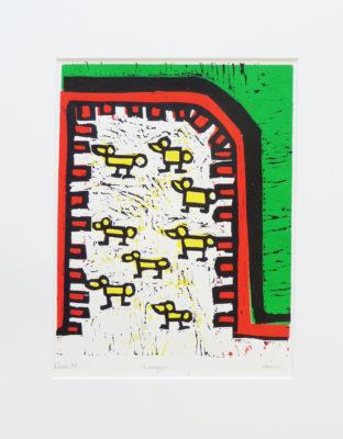Kunstwerk Henri Derks - Eendjes